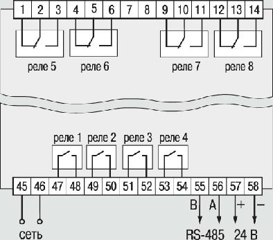 контроллер трм12 подключение